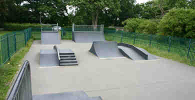 Photo of King's College, Ruislip Skatepark