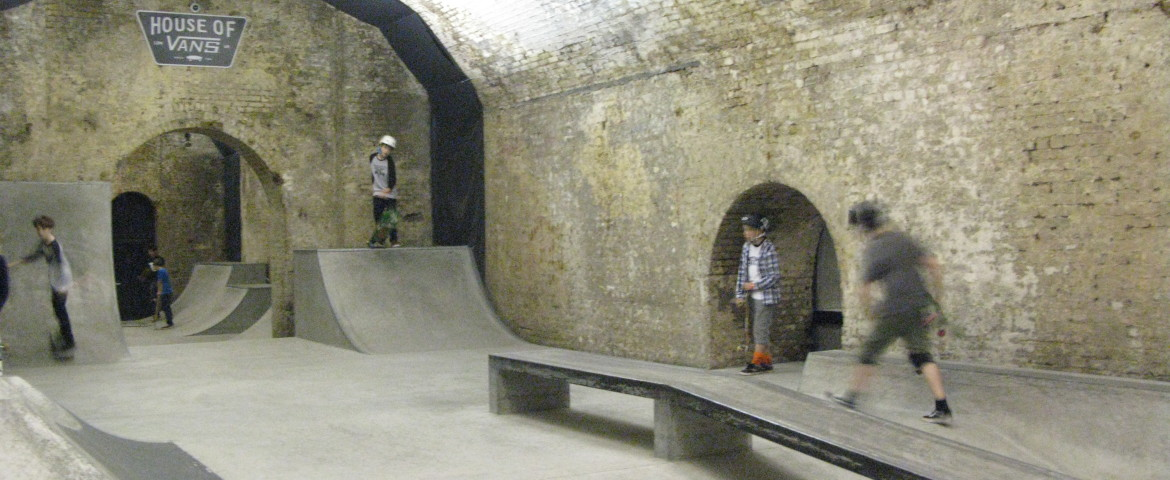 229e4977db House of Vans Skatepark - London Skateparks - Guide to skateparks ...