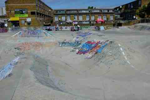 Photo of Stockwell Skatepark