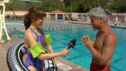 Splash&#x27;s Greg Louganis Teaches Glamour How to Dive
