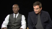 Iron Man 3: Don Cheadle and Shane Black