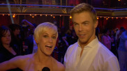 Backstage at the Dancing With the Stars Finale