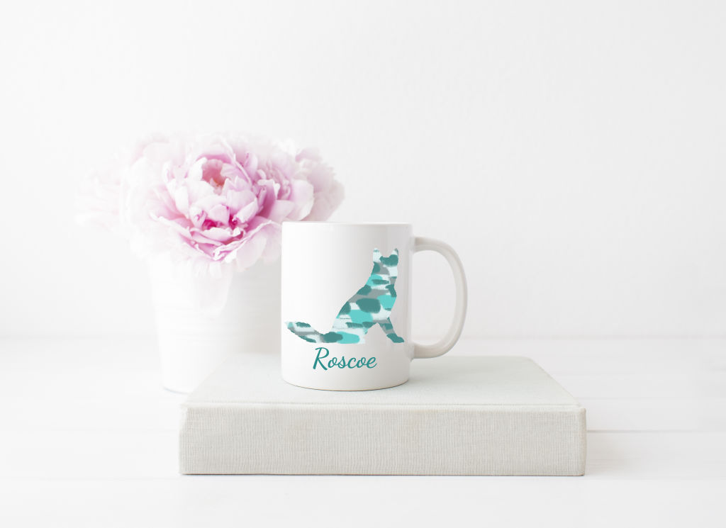 Personalized Silhouette Mug