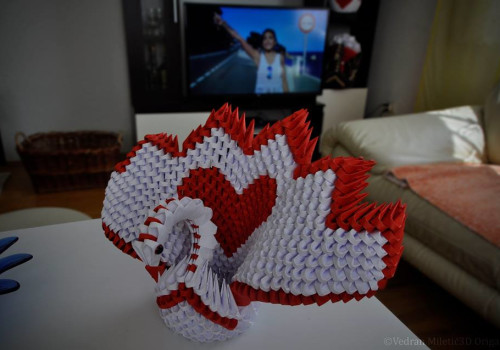 3D origami radionica za djecu