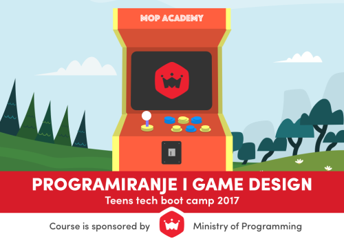 MOP Juniors - Programiranje i Game Design