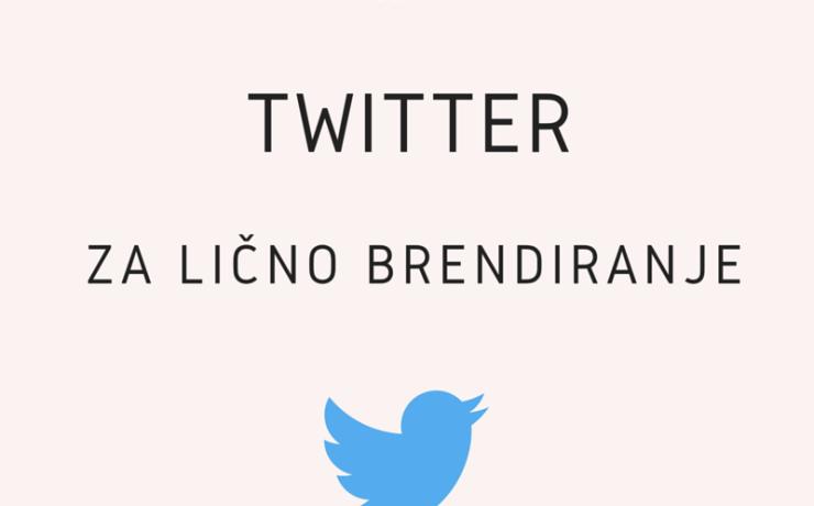 Twitter za lično brendiranje