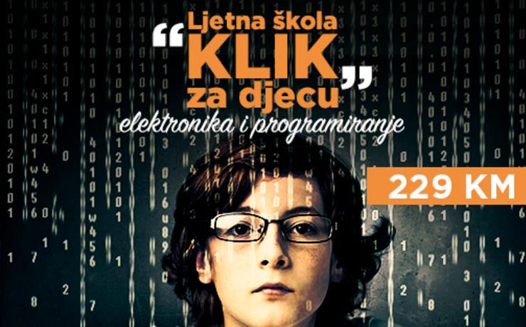 Ljetna škola elektronike i programiranja za djecu