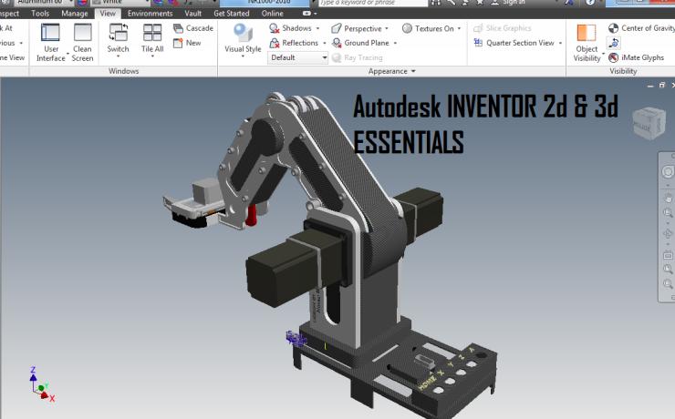 Autodesk INVENTOR -2d & 3d ESSENTIALS