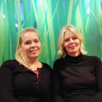 Christina Bergman i Eva Fazlagić