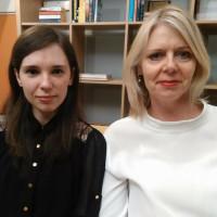 Christina Bergman i Irma Karčić