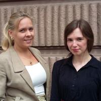 Eva Fazlagić i Irma Karčić