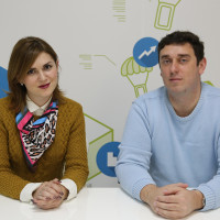 Dragana Mitrić-Aćimović i Aleksandar Sabo