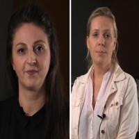 Eva Fazlagić i Dinka Perić