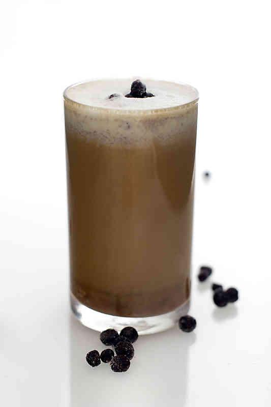 Coffee nordic blue
