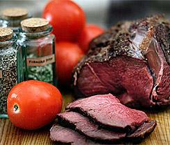 Lammstek (förberedd friluftsmat)