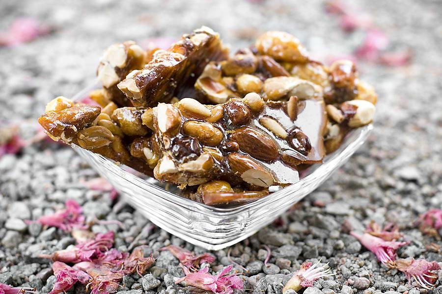 Kanderade mandlar och nötter