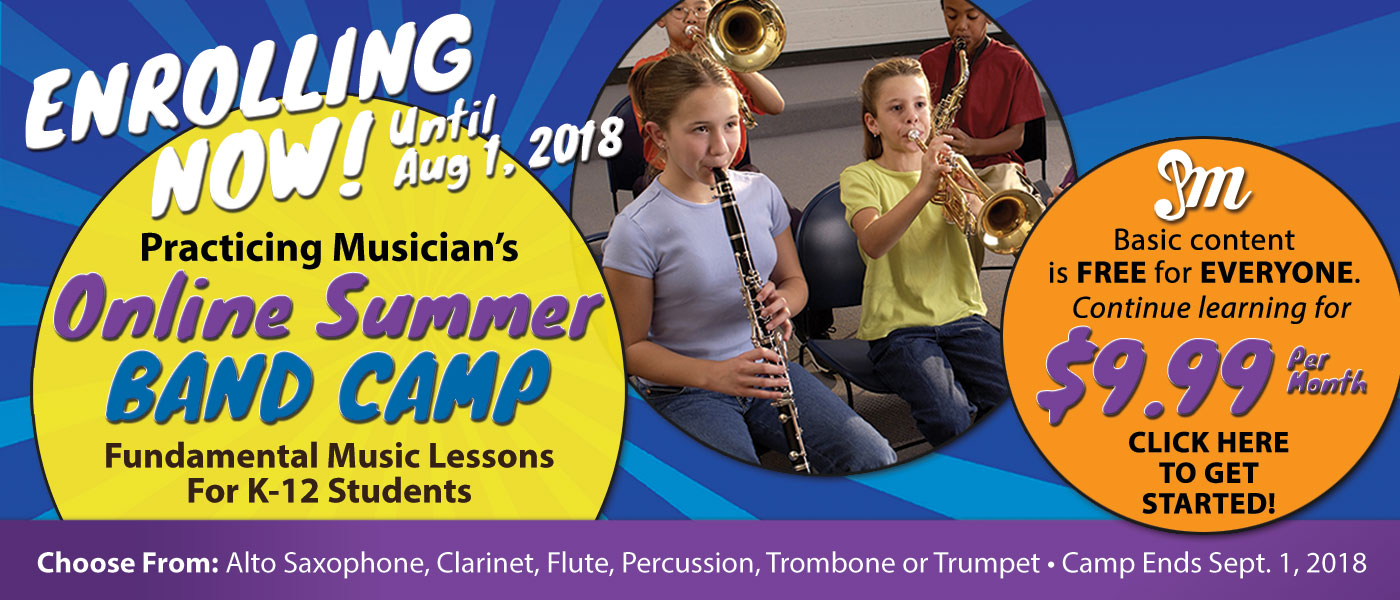 Practicing Musician Online Band Camp