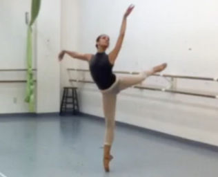 Gabi Salvatto #<DanceType:0x00564b6f49e038> Ballet