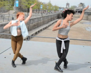 Aglaë & Lauzon #<DanceType:0x007fad682dcba8> Street Jazz