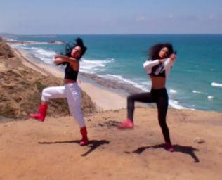Noa & מורן #<DanceType:0x00564b6f558460> Hip-Hop