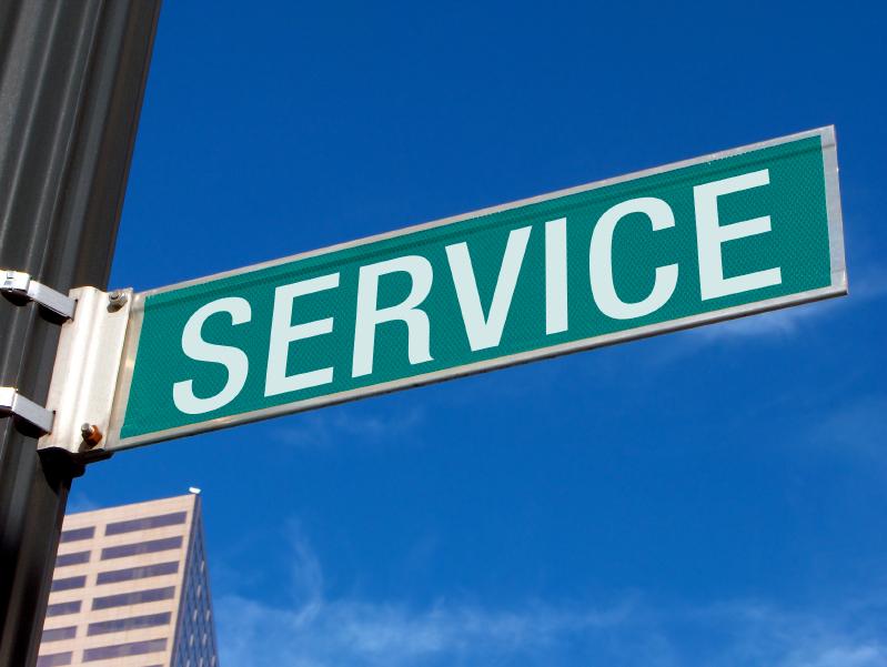 Service Sign