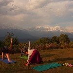 Yoga trek Nepal Pokhara retreat annapurna trekking