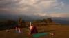 Yoga trek Nepal Pokhara retreat annapurna trekking