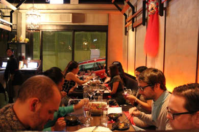 Mindful eating experience at Chilli Fagara