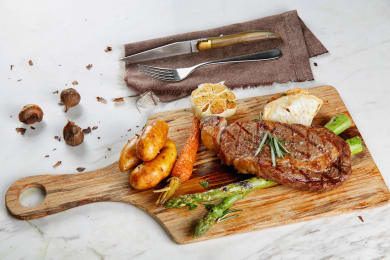 Mouthwatering Steaks at Marbling by Mr. Steak