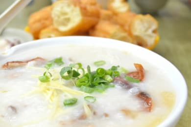 Warm up with Kam Fung Congee after a Family Hike