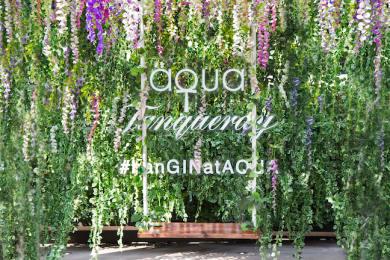 Hong Kong's First Japanese Hanging Gardens Pop-Up at aqua and Armani/Privé