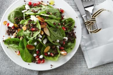 Recipe: Pomegranate, Almond and Feta Salad