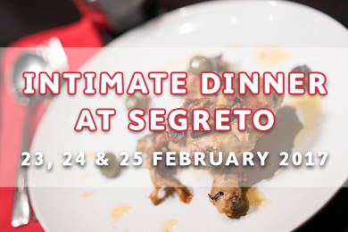Intimate Dinner at Segreto Italian Private Kitchen