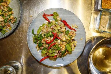 Interactive Thai Cooking Demo Dinner