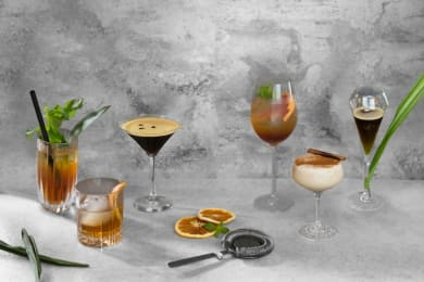New Coffee Cocktails by Antonio Lai at The Coffee Academics