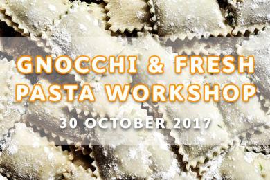 Gnocchi & Fresh Pasta Workshop