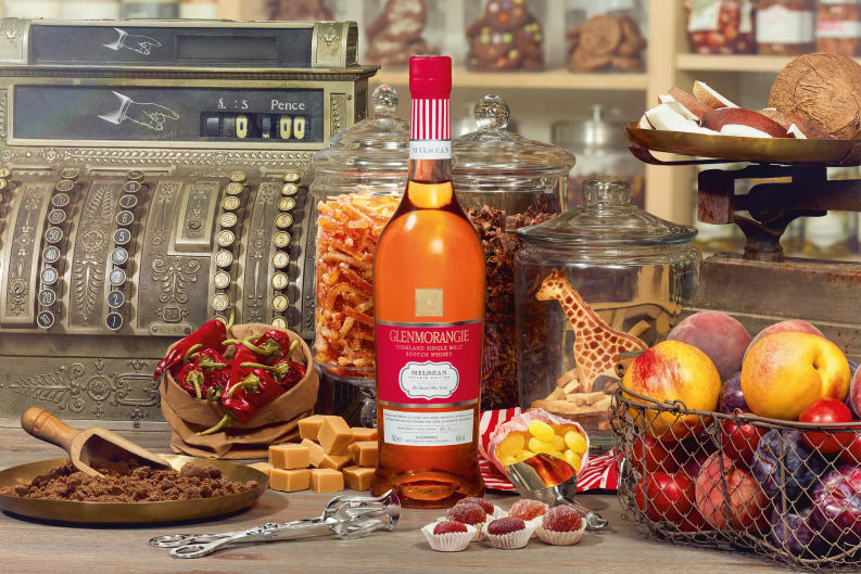 Glenmorangie Milsean and Mr Simms Olde Sweet Shoppe pair up