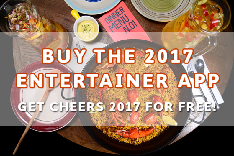Upgrade Your Dining Out Experience with The Entertainer 2017