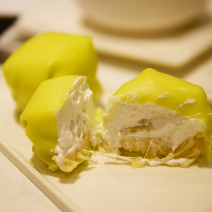 Durian pancake from Cong Sao