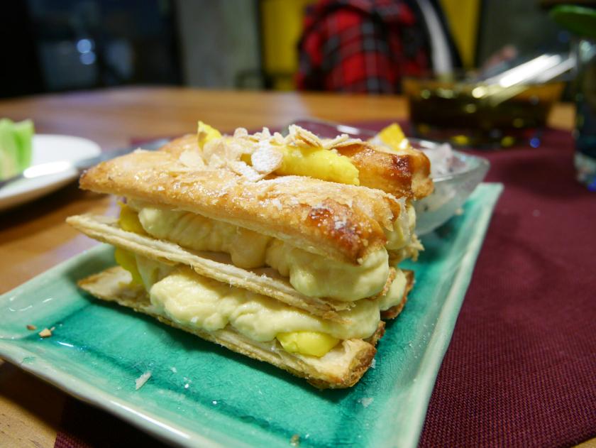 Durian napoleon