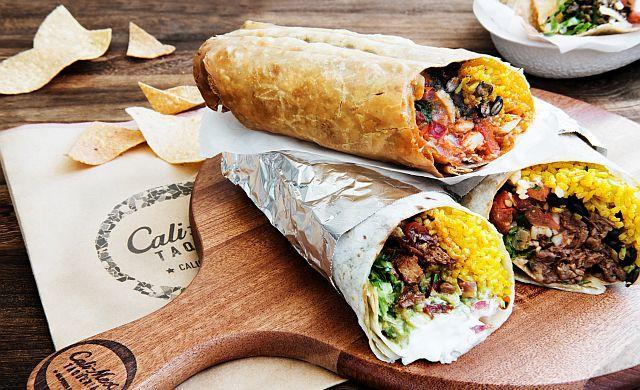 Burritos from Cali-Mex