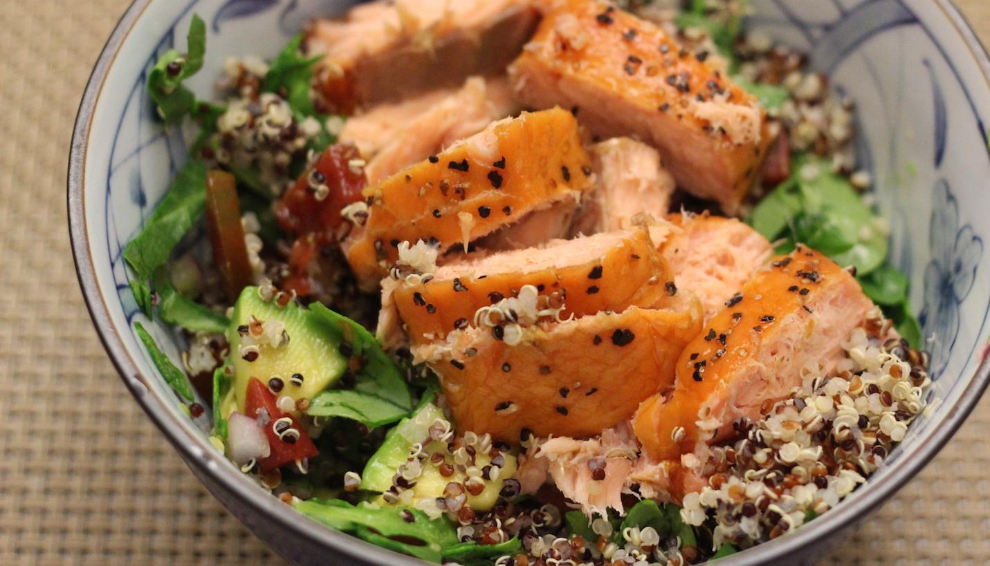 Smoked salmon omega 3