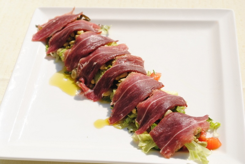 Green Beans and Iberian Ham Salad