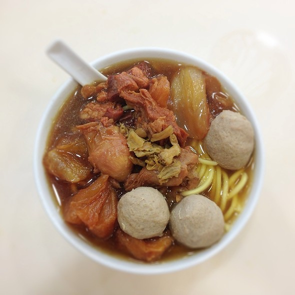 Beef Brisket and Beef Ball Noodles