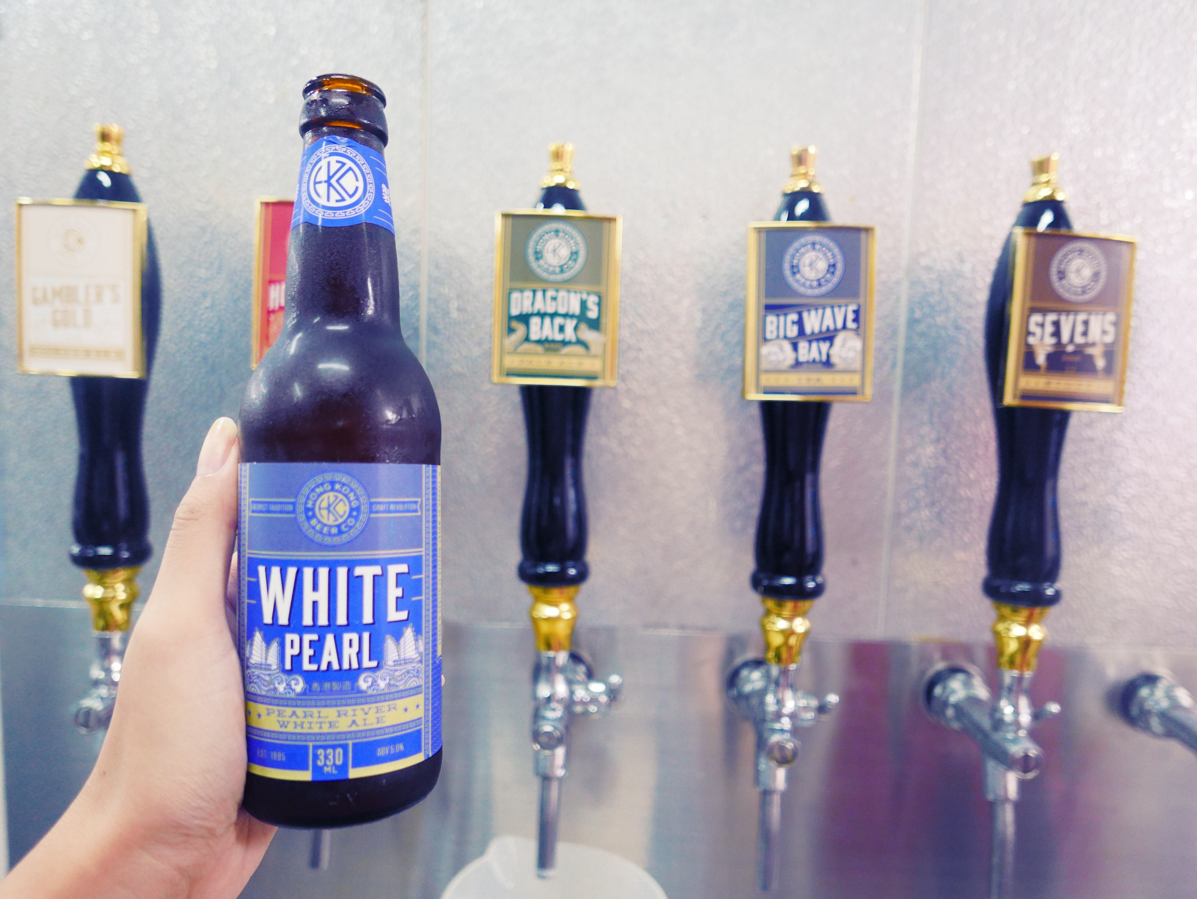 HK Beer Co. White Pearl River White Ale