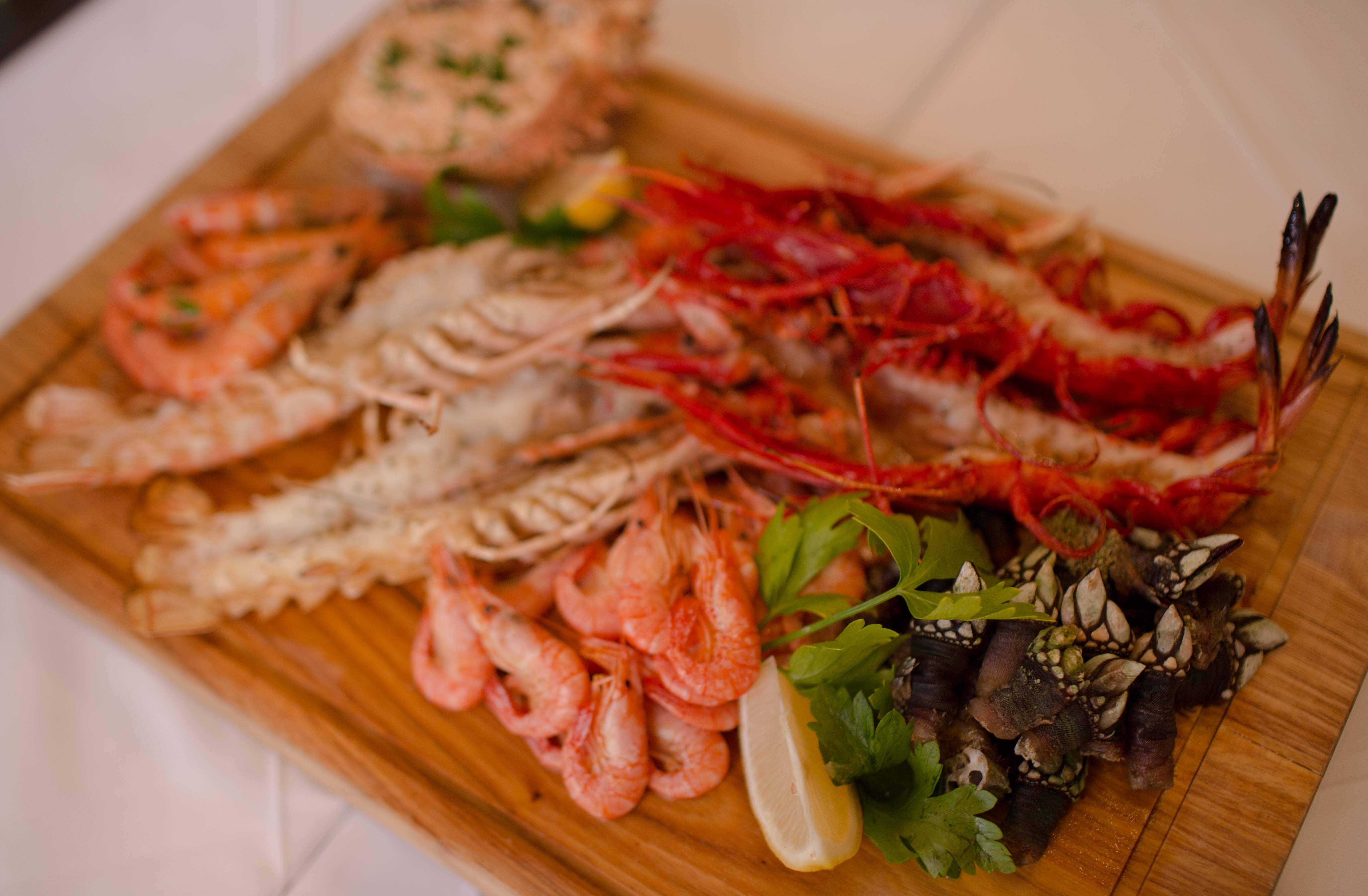 Portuguese Seafood Platter