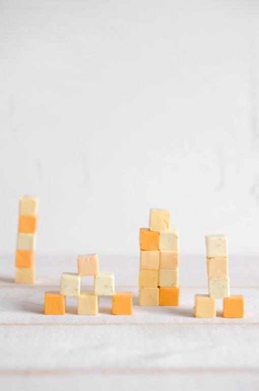 Fromage en cubes