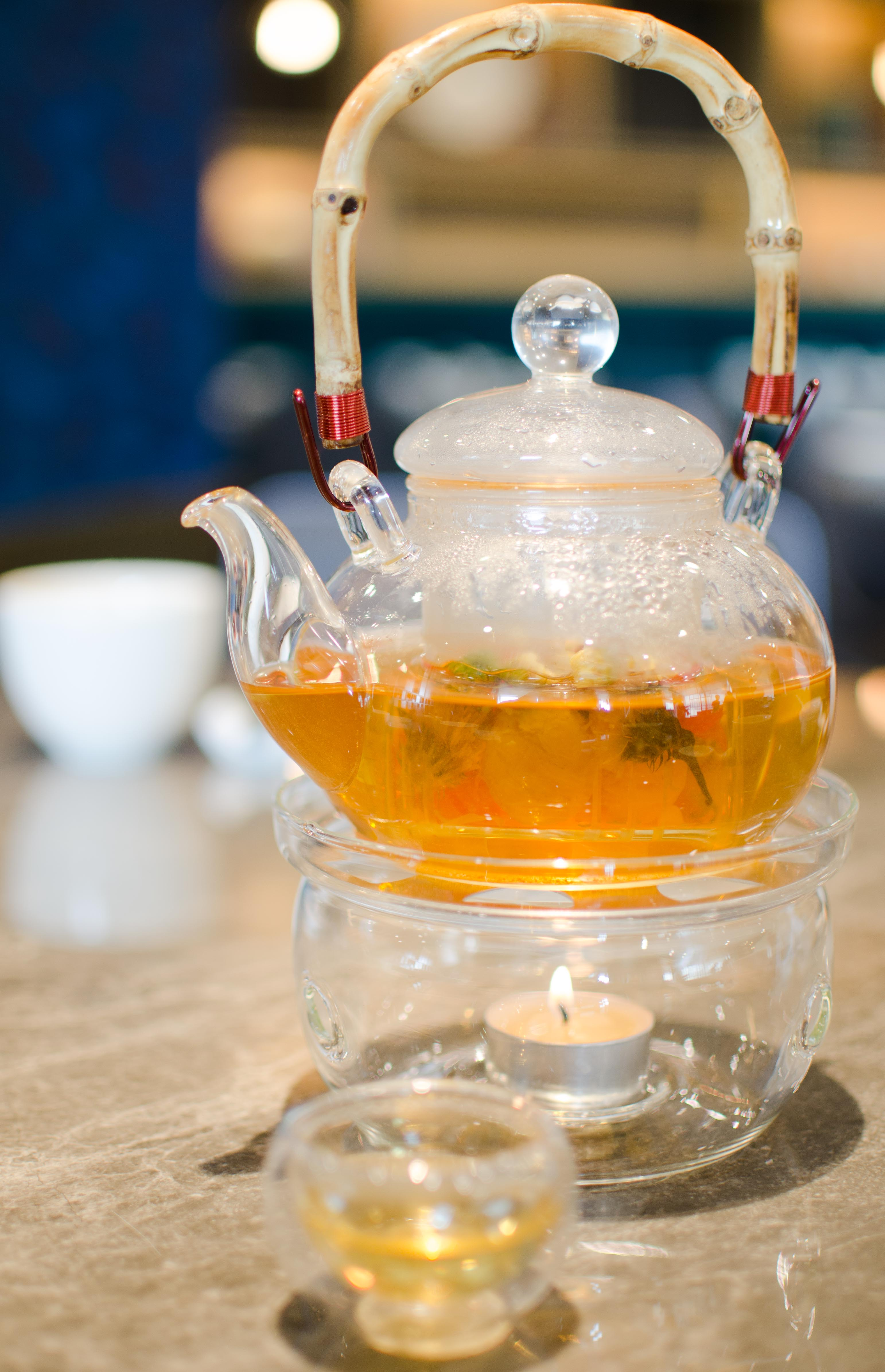 Floral Hot Tea