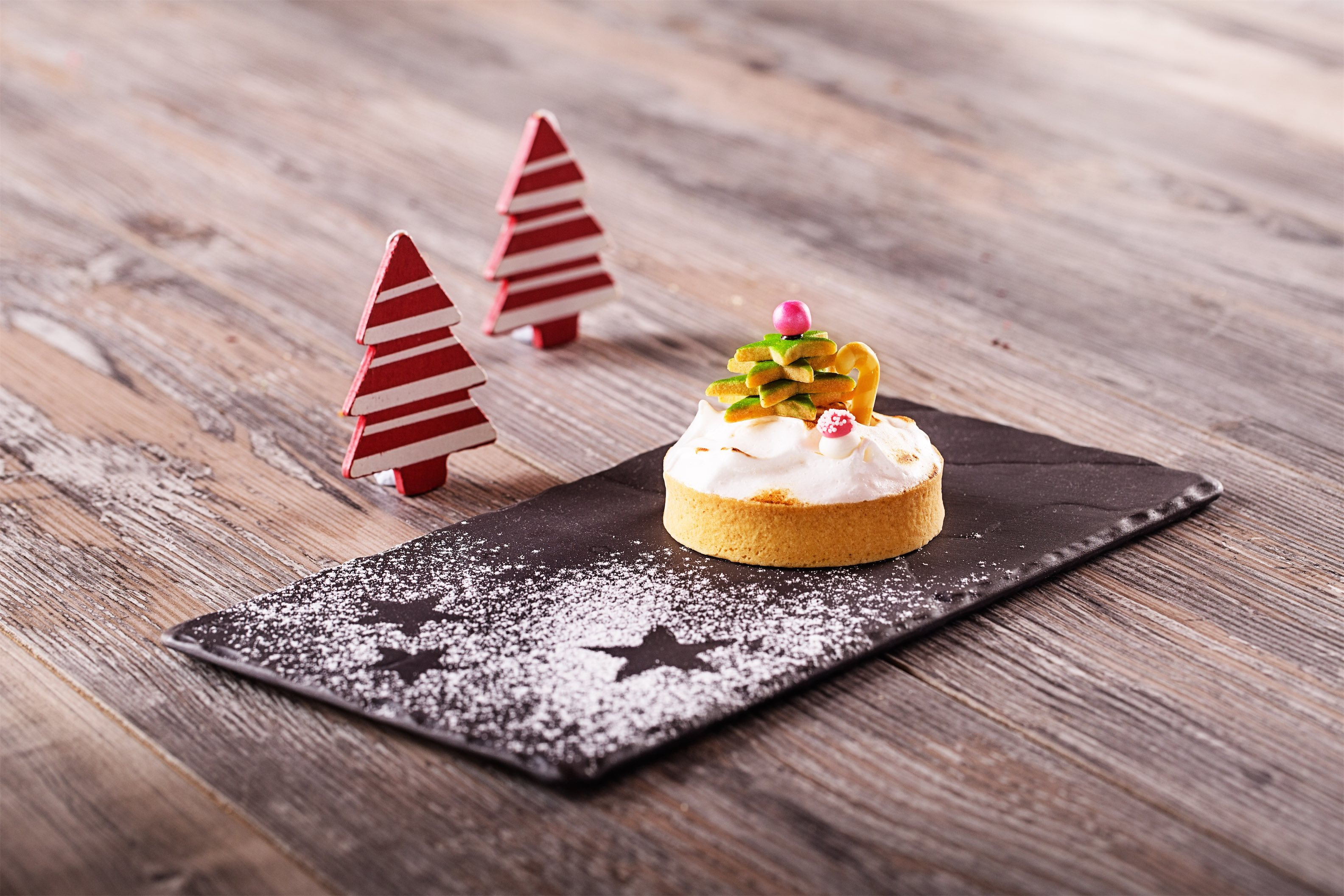 Christmas Snow Tart