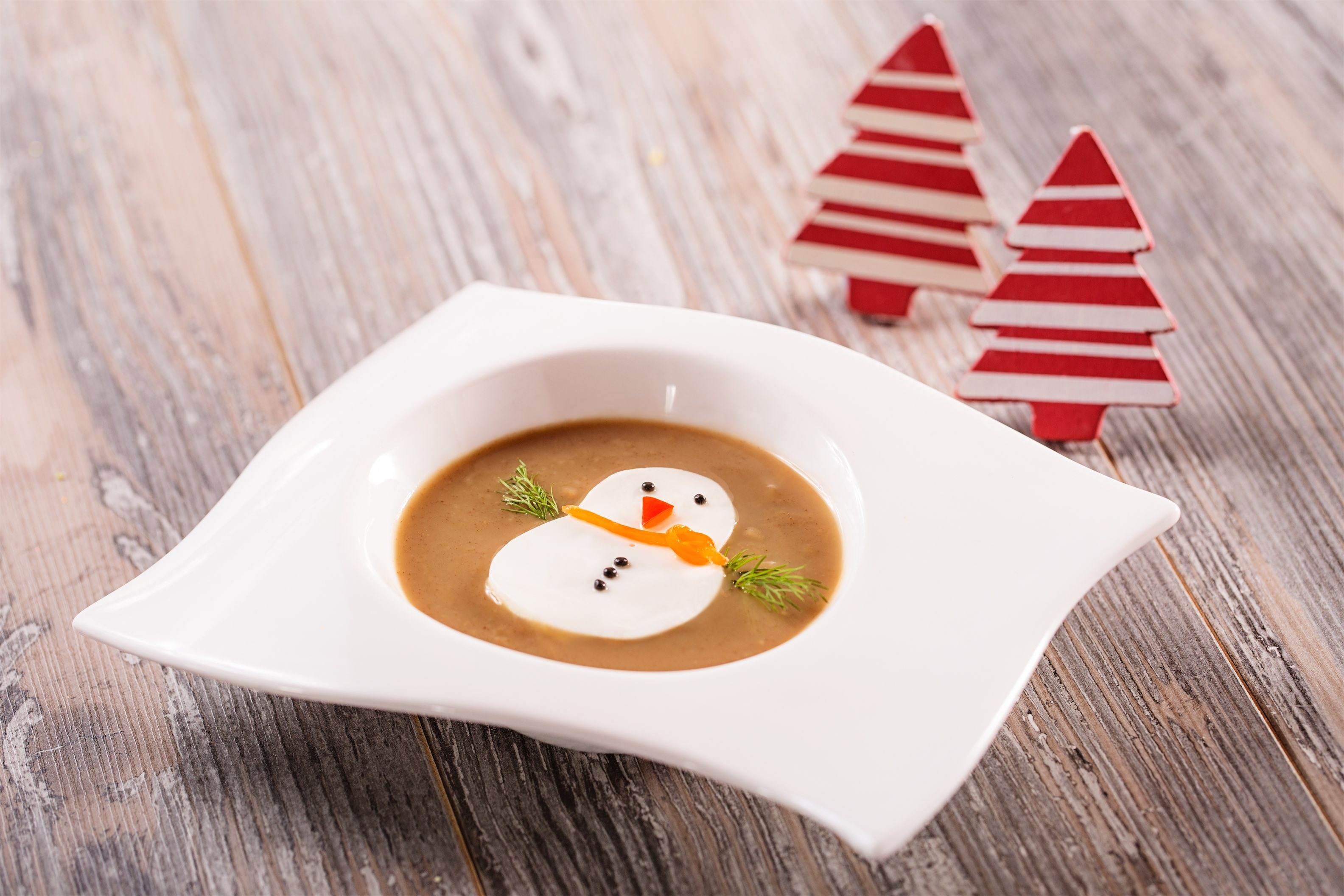 Melting Snowman Soup